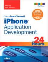 Sams Teach Yourself iPhone Application Development Book Cover